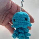 llavero medusa 8cm. 10 euros