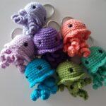 llaveros medusa 8 cm. 10 euros