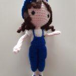 muñeca rígida 19 cm. 30 euros